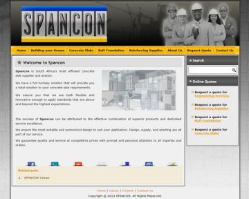 Spancon Concrete Slabs