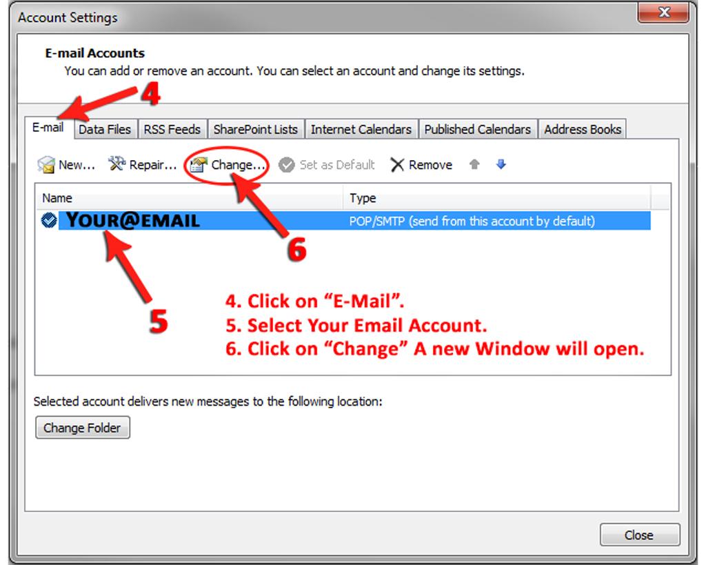 Change Email Login Details - Nerdshop